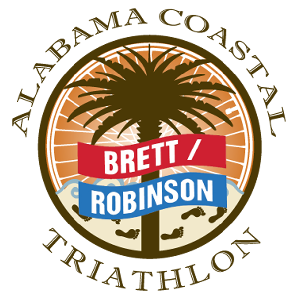 Brett Robinson Alabama Coastal Triathlon Logo
