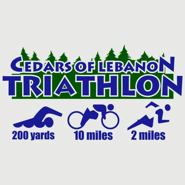 Cedars of Lebanon Triathlon Logo