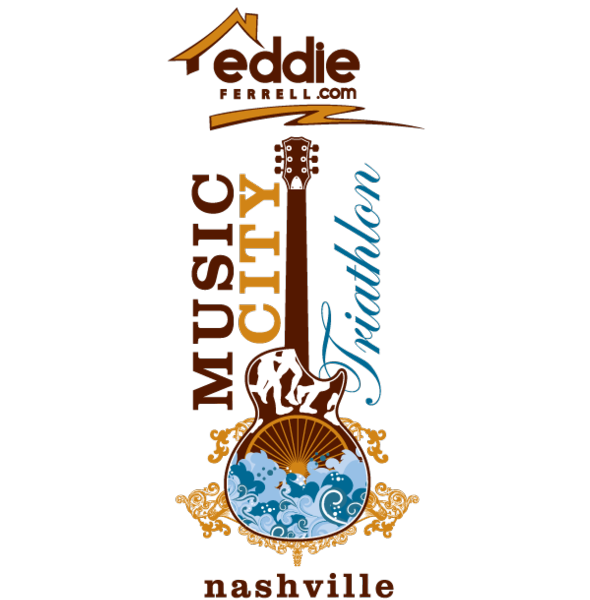 Eddie Ferrell Music City Triathlon Logo